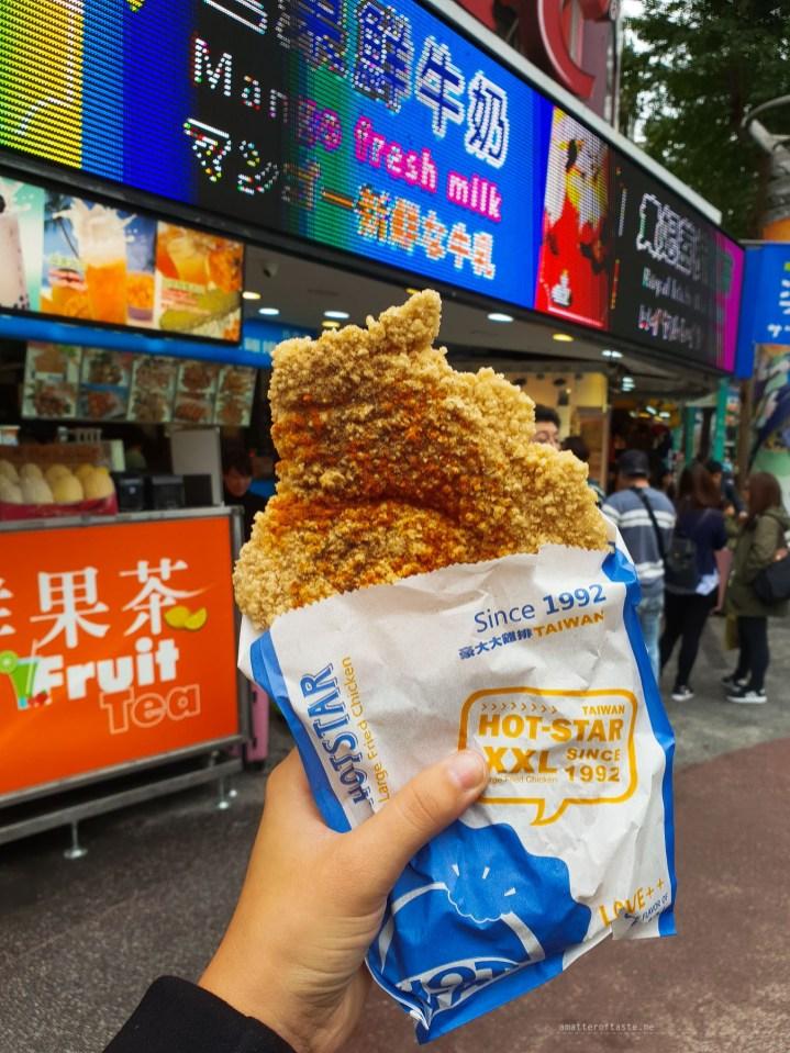 Food taiwan chicken hot star