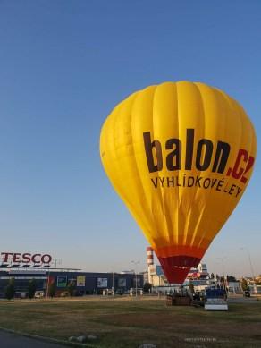 Hot air balloon Brno