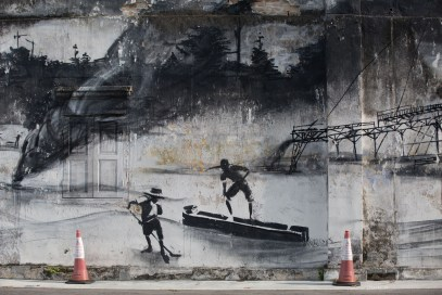 Ipoh-tin-mining-museum-mural