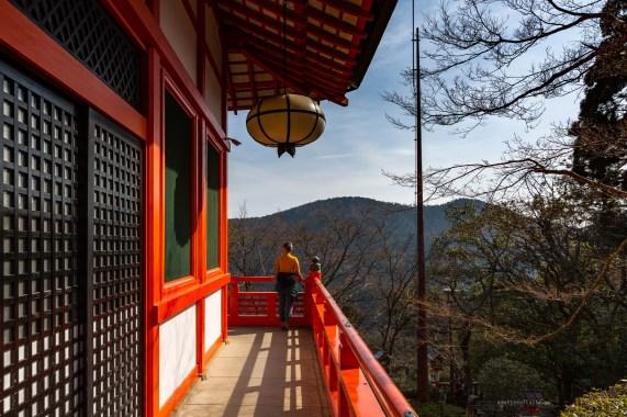 Kurama-dera Temple hike view