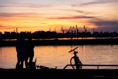 Life in Tallinn - sunset walk