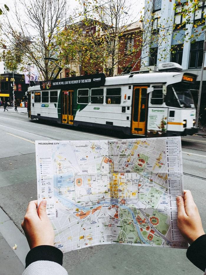 Melbourne between lockdowns tourist