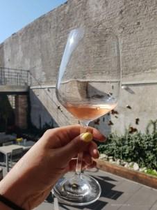 Mikulov wine sightseeing glass