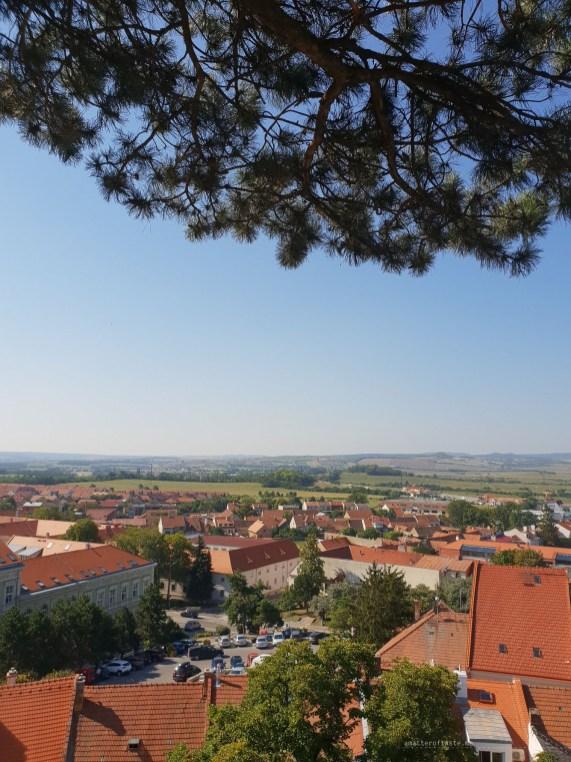 Mikulov wine sightseeing view