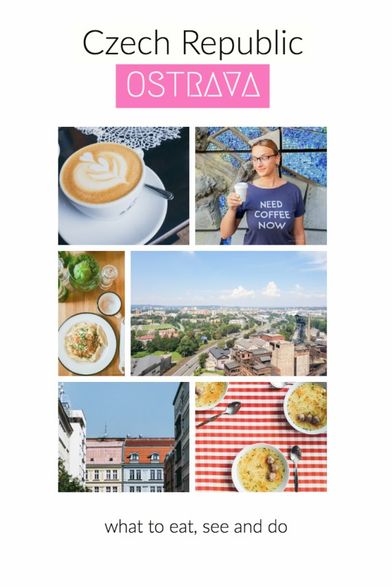 Ostrava Czech Republic what to eat see and do