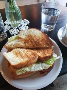PetPunk cheese sandwich