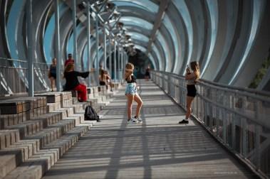 Public spaces in Madrid Rio