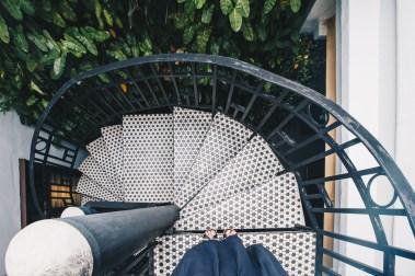 Sarang Paloh Heritage Stay staircase