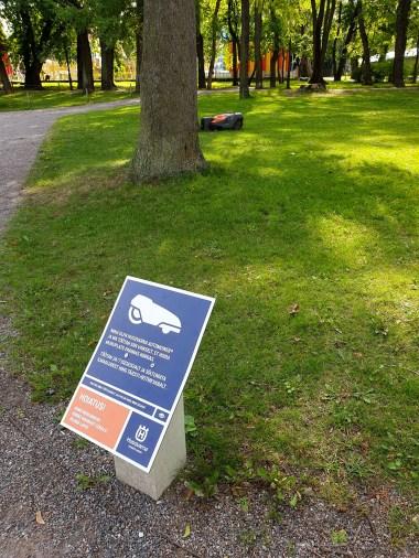 Tallinn City - automatic mowers