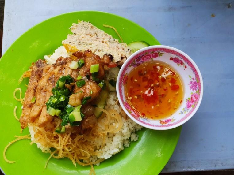 hcmc saigon food com tam
