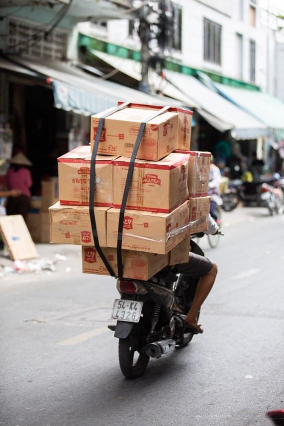 saigon motorbike transport oxes