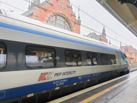 travelling poland train