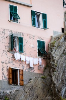 weekend away from Florence - Cinque Terre laundry