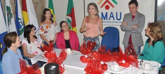 Primeiras Damas da AMAU enaltecem ações em conjunto