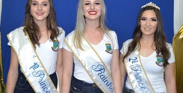 Taís Paula Rigo é a nova Rainha de Cruzaltense