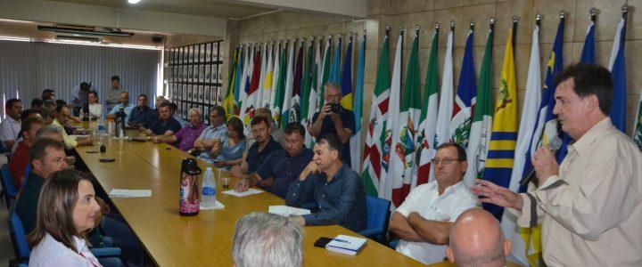 Mobilização dos prefeitos da AMAU resultou positivamente o pagamento da dívida com a FHSTE