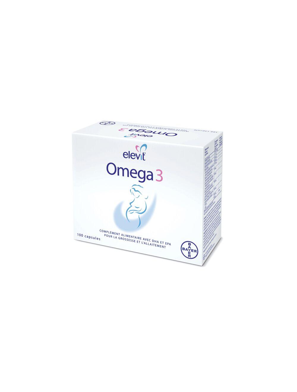 elevit omega 3 100 capsules
