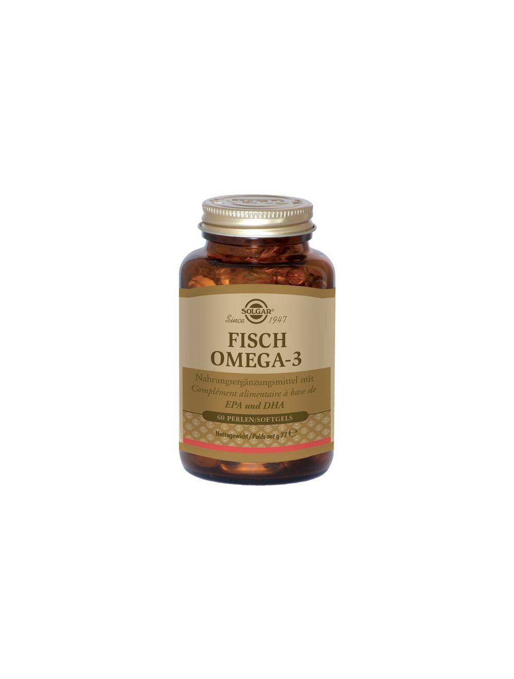 solgar fisch omega 3 60 comprimes