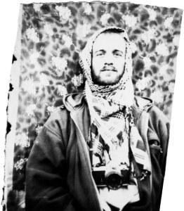 Jan Rybár, portrét, Afghánistán