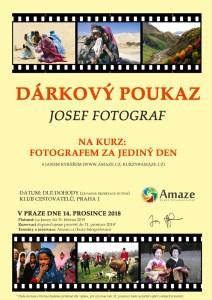 kurz fotografování - dárkový poukaz