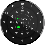 Amazfit Pace WatchfaceRoteWatch v1