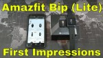 Amazfit Bip (Lite) – First Impressions and Overview – A very budget friendly GPS watch!