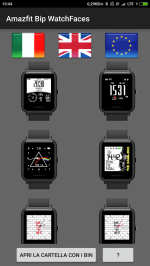 Amazfit Bip Watchface App for Android!