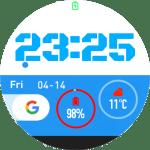 Blue Google – Amazfit Pace Watchface