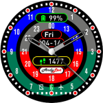Daily Sector Face – Amazfit Stratos (Pace) Watch faces