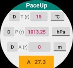 PaceUp is an altimeter for the Amazfit Pace, Stratos, and Verge