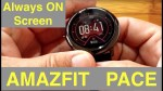 XIAOMI AMAZFIT PACE Fitness Smartwatch Firmware Update adds Biking/Custom Watch Faces [English Only]