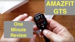 XIAOMI AMAZFIT GTS 5ATM Waterproof Sports Fitness Smartwatch: One Minute Review