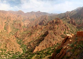 Desierto y Valle del Azafrán