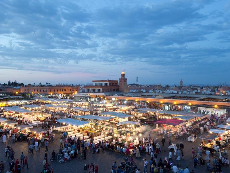 Eventos y cursos en Marruecos
