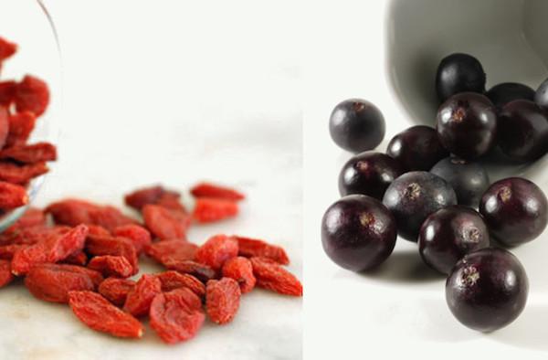 goji dan acai berry