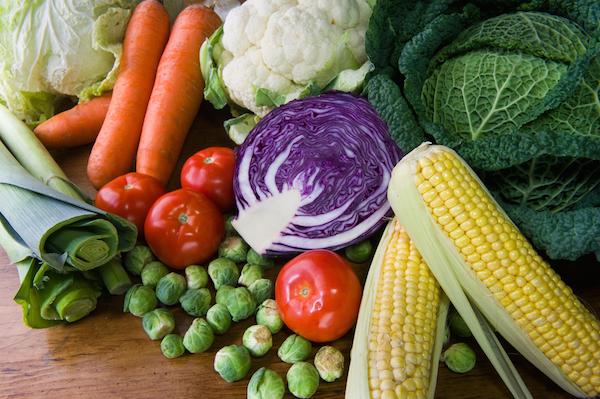 sayuran vegetarian