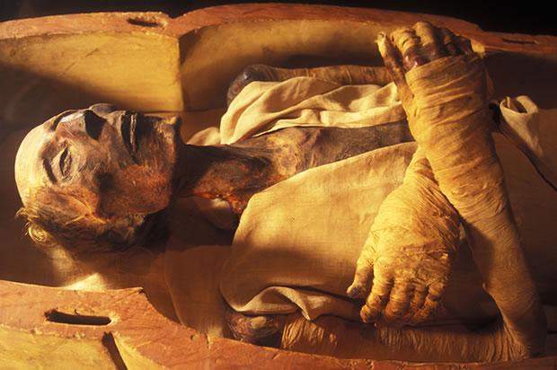 mumi mesir