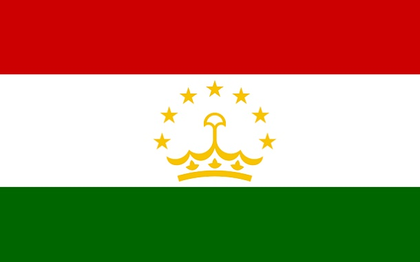 Bendera Tajikistan