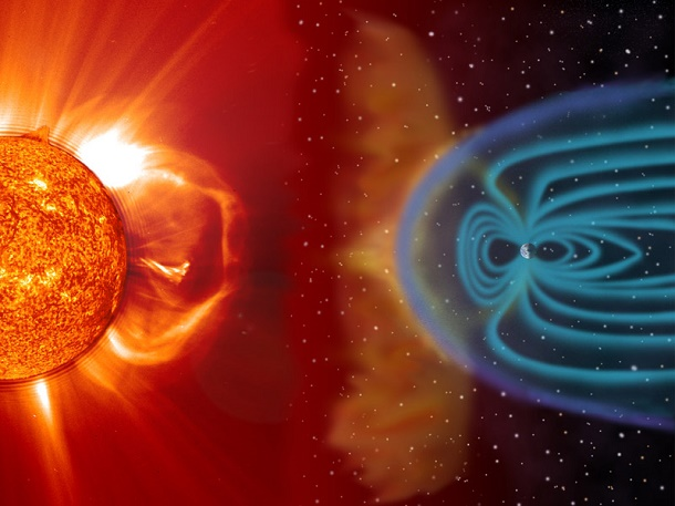Angin matahari (solar wind)