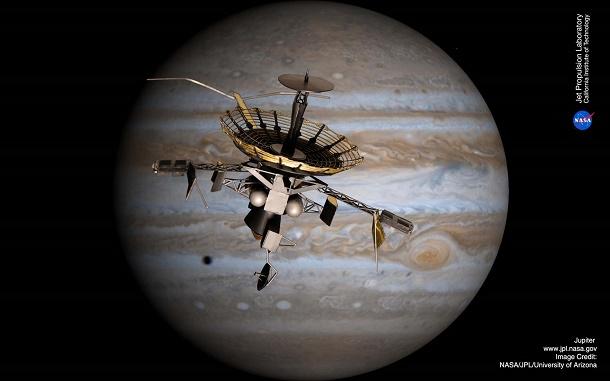 Galileo pesawat Jupiter