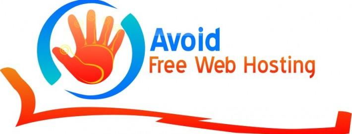 hindari web hosting gratis