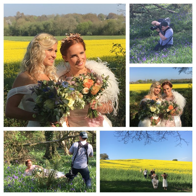 Spring Bluebell Photo Shoot