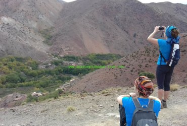 5-day hike around berber villages