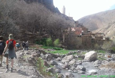 6-day berber villages family trek