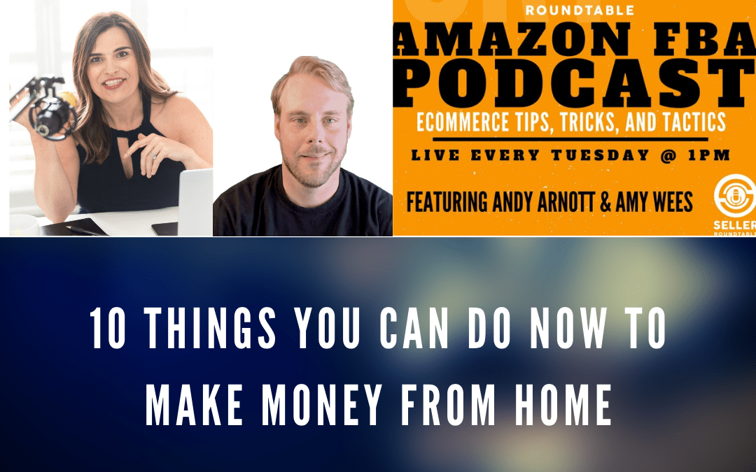 10 Things You Can Do NOW To Make Money From Home
