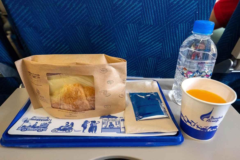 อาหารบนเครื่อง Bangkok Airways