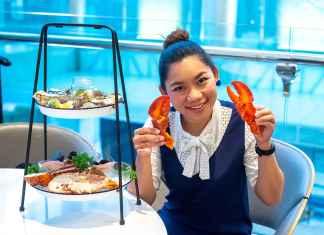 Seafood Tower โรงแรม Le Meriden Bangkok