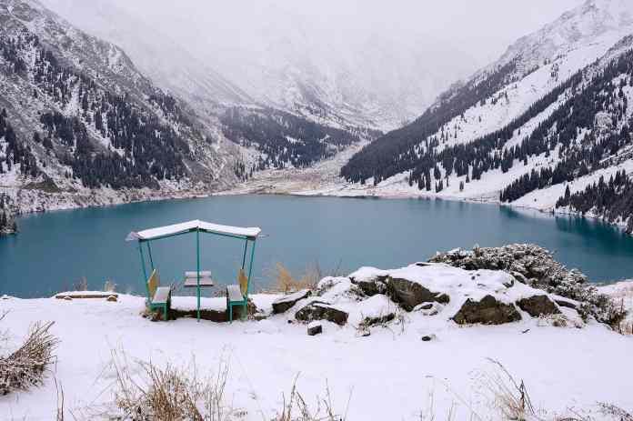 Big Almaty Lake, Kazakhstan
