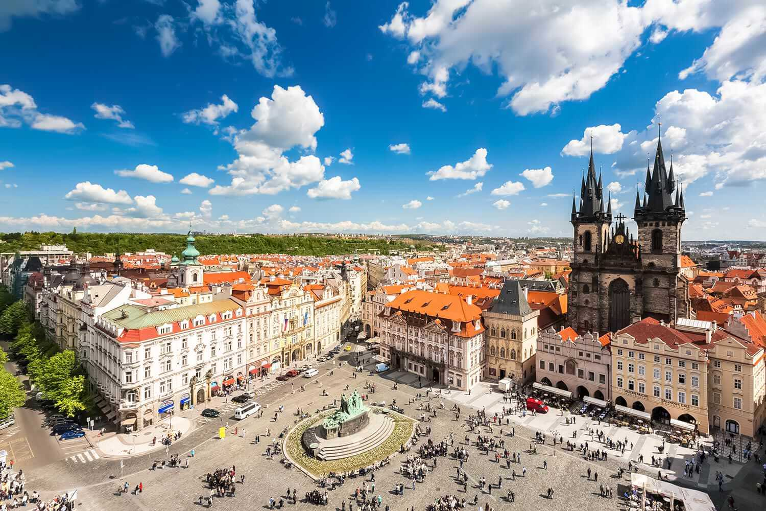Old Town Square Prague Discover The Beauty Of Czechia S
