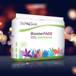 Booster Pads Maximum Absorbency
